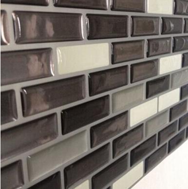 Carrelage et autocollant 3d gel effet de mosaique auto for Carrelage adhesif salle de bain avec led chine importation