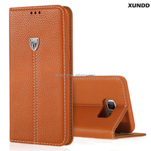Xundd Leather Case Galaxy S6 Edge Plus,For Samsung Galaxy S6 Edge Plus Case