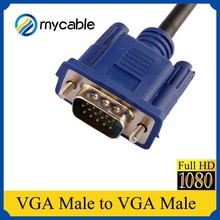 High quality wholesale cheap price male to male vga rca