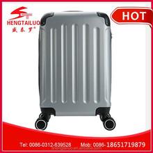 ABS PC trolley luggage /custom PC suitcase/ fashionable travel luggage bag
