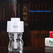Hot Sale Office and Home Use Humidifier Creative Bottle Cap Design Mini USB Humidifier