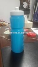 la luz azul surtida de plástico botella de los deportes