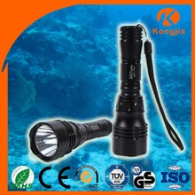 Rechargeable Focusing Light 200 Lumen 5 Modes Underwater Light HID Diving Torch