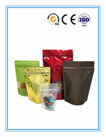 Hot sell Top quality zip lock stand up pouches