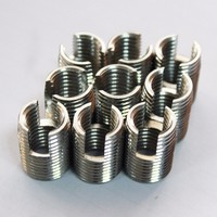 M10-18mm spark plug inserts self-tapping with cutting slot for Cast iron products