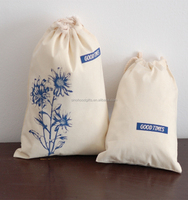 Alibaba China Supplier Online Fashion Designe New Products Wholesale cotton cinch bag