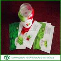 Hot sale! New product! PET heat shrink label /PET shrink sleeve/PET shrink wrap