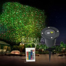 elf light christmas lights projector outdoor laser/red and green moving garden laser decoration