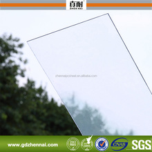 Haute transparence 1.5 mm - 8 mm solide feuille de polycarbonate