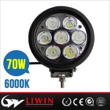 2015 best hotsale 10-30v DC Auto 70w led work light car head lamp car led lamp