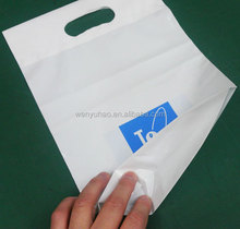 2015 Popular Gusset Grave Low Density Poly Ethylene Shopping Bags