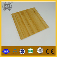 Wooden design cheapest PVC ceiling& wall panel high quality for building