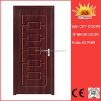 Single wooden door design SC-P098