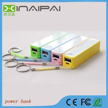 Universal Emergency 2000mah Travel Rechargeable Power Bank