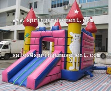 High quality Classical inflatable jumper and slide combo castle SP-CM005
