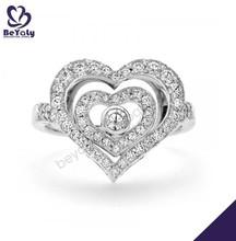clásico de color aguamarina de fantasía de la compra en línea 24k boda anillo de oro