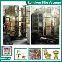 mosaic tiles gold pvd vacuum metallizing machine/ceramic cup/ plates/ tiles vacuum coating equipment