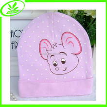 Foldable cute hats soft baby cotton hats