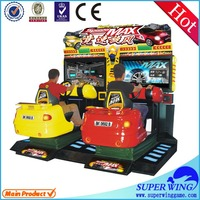 High qulity luxurious appearance simulator arcade racing car game machine