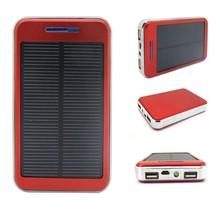Solar Power Bank Charger 10000mAh Universal Portable Mobile Solar Charger Power Bank CP-S007