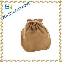 Promotion Shopping Jute Drawstring Bag