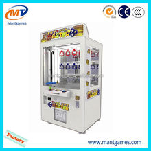 New best sell key master /commercial prize bingo game machine/popular toy vending crane machine