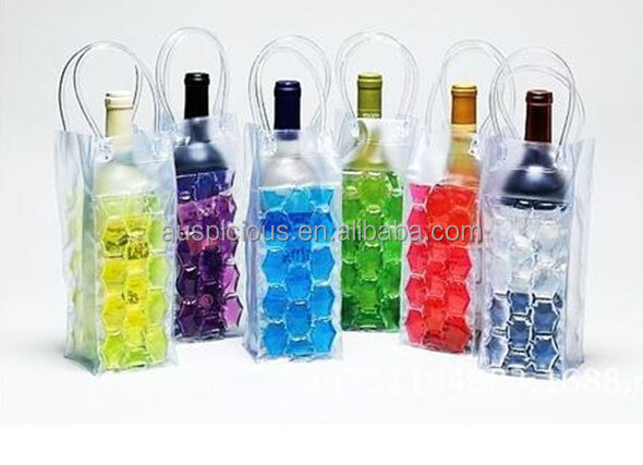 Factory direct sale high quality durable ECO-Friendly PVC wine bag