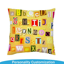 2015 Hot Selling Sublimation Pillow Case without Cushion