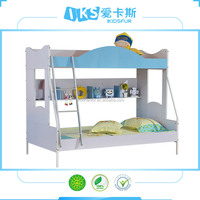 apple theme bunk bed with stairs for kids bedroom 8204#