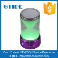 new product smart lighting flashing bluetooth wireless colorful light speaker