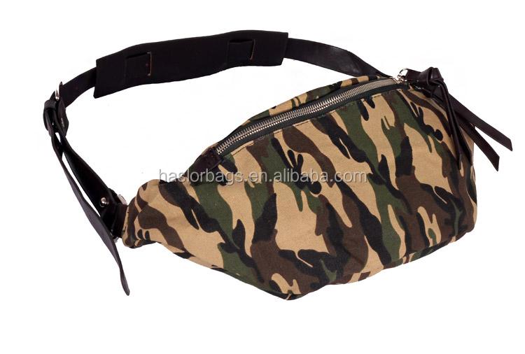 Conception fraîche hommes durable toile militaire sacs avec motif de camouflage