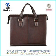 OEM leather laptop bags in leather for men china