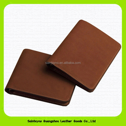 Ultra thin leather wallet for men 15602