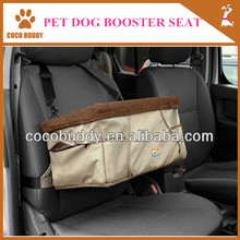 Top quality Coral Hanging Portable Pet Dog Booster Seat Puppy Auto Travel Bag