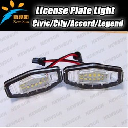 No errors led license plate lamp