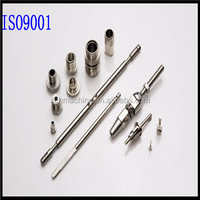 High quality alloy steel precision shaft metal parts made by imported CNC machine