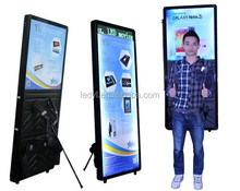 Newest Design Hot Advertising With Battery Powered Human Walking Mobile Message Scrolling Outdoor Mobile backpack Billboard
