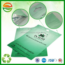 High quality laminated cosmetic face mask plastic bag,facial mask bag