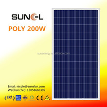 LDK 200W polycrystalline solar pv panel STOCK near to YIWU