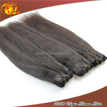 Wholesale human hair grade 6a yaki pony hair braiding hair braids