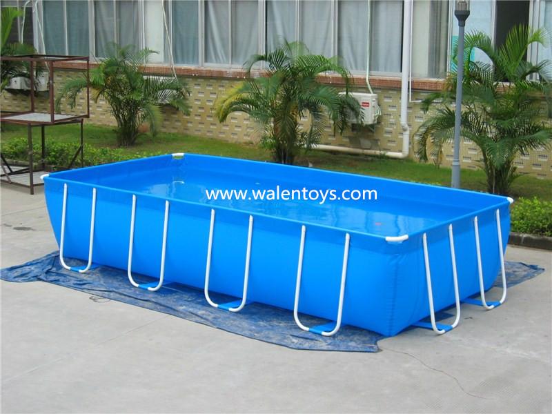 Inflatable rectangular pool jilong swimming pool adults wading pool buy inflatable rectangular for Intex inflatable rectangular swimming pool