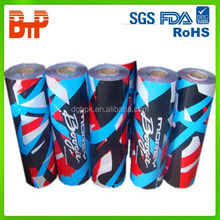 customized printed wrapping plastic roll