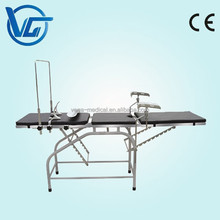 CE marked Manufacture Price ordinary Operating table for delivery/obstetric table