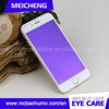 eye care product electroplat coating shatterproof anti blue light 0.33mm tempered glass full cover screen protector for iphone6