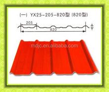 Metal galvanized corrugated steel roof tile