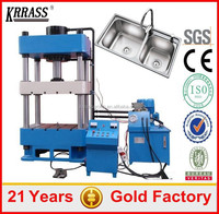 KRRASS Brand Hydraulic Press 200 tons for Stainless Steel Kitchen Sink Punching Die