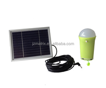 portable led solar lighing system incude solar panel and SMD light