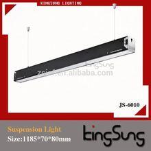 Led suspendu blanc froid bureau a mené l'éclairage de plafond suspendu