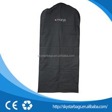 Can be customized cotton packing hanger bridal garment bags on selling