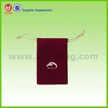 Eco friendly Customized Velvet Drawstring Bag